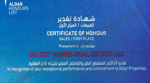Select-Homes-1st-Place-Sales-Award-2014